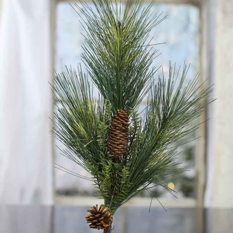 Vintage French Soul Artificial Pine Spray Christmas Tree Shop French Vintage Artificial