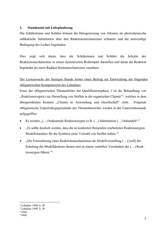 Mechanismus Der Radikalischen Substitution Unterrichtsmaterial Im Fach Chemie In 2020 Chemieunterricht Unterrichtsmaterial Chemie