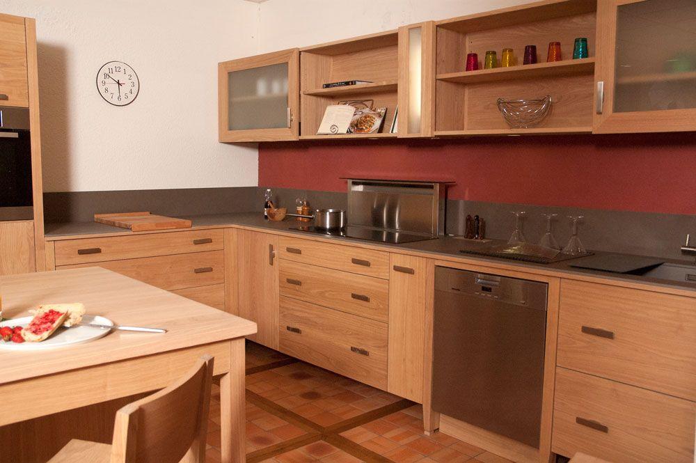 Cuisine Bois Massif Non Traité MEUBLES BIO Pinterest Cuisine - Meuble en frene massif pour idees de deco de cuisine