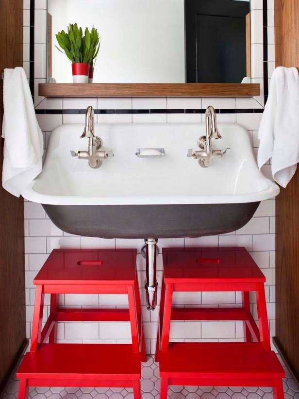 30 small bathroom design ideas  hgtv with images