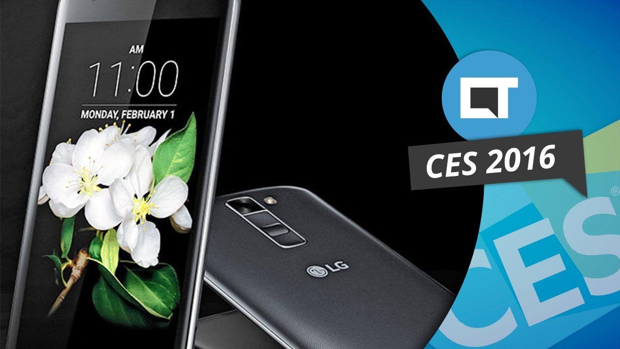 K7 e K10: os novos smartphones intermediários da LG [CES 2016]