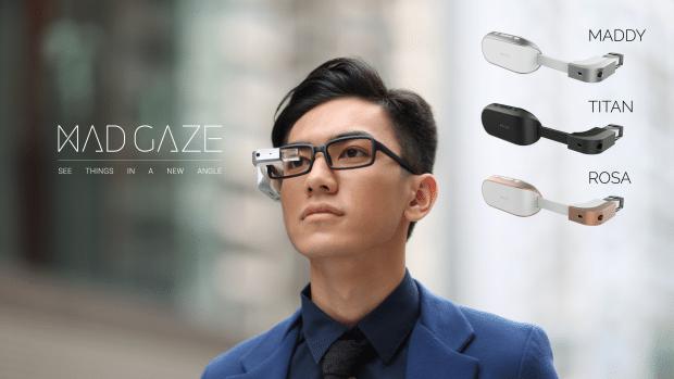 Mad gaze des smart glass un prix abordable objets connect s connected objects - Domotique cuisine ...