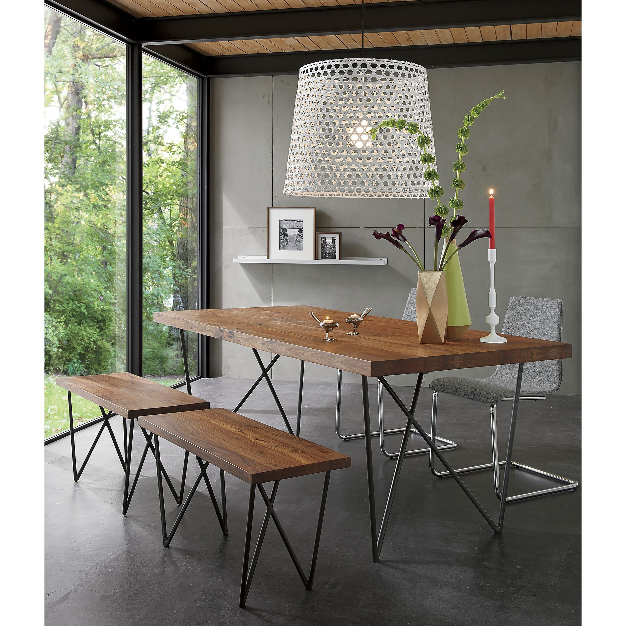 Dylan 36 X80 Dining Table Cb2 Minimalist Dining Room Dining