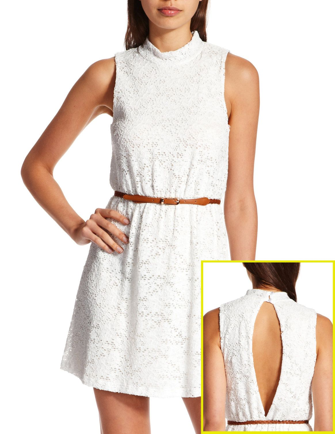 Lace dress open back  OpenBack Crochet Lace Dress  My Style  Pinterest  Crochet lace