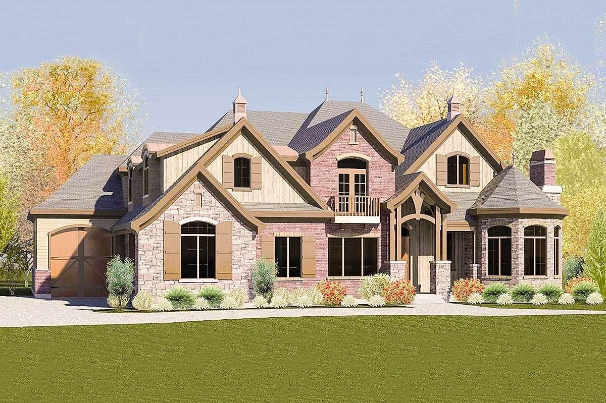 Eight bedroom european house plan 290007iy architectural designs house plans