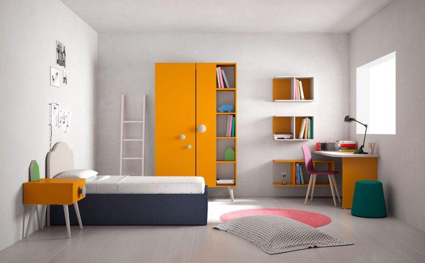 Render fotorealistici di camerette per ragazzi battistella for Battistella mobili