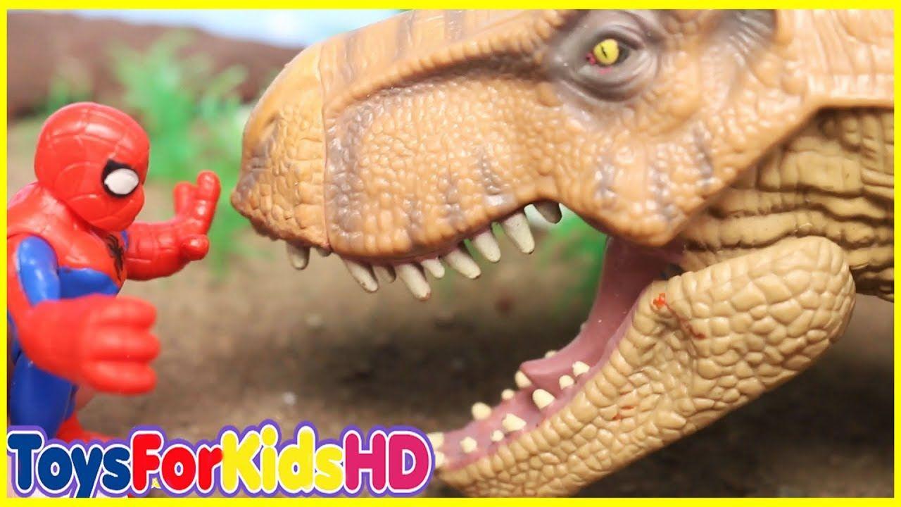 Superheroes Dinosaurios Para Y De Niños Videos kiuOPXZ