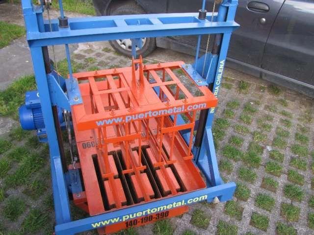Maquina Para Hacer Bloques De Cemento Despacho Todo Chile Bloques De Cemento Casas Prefabricadas Hormigon Bloques
