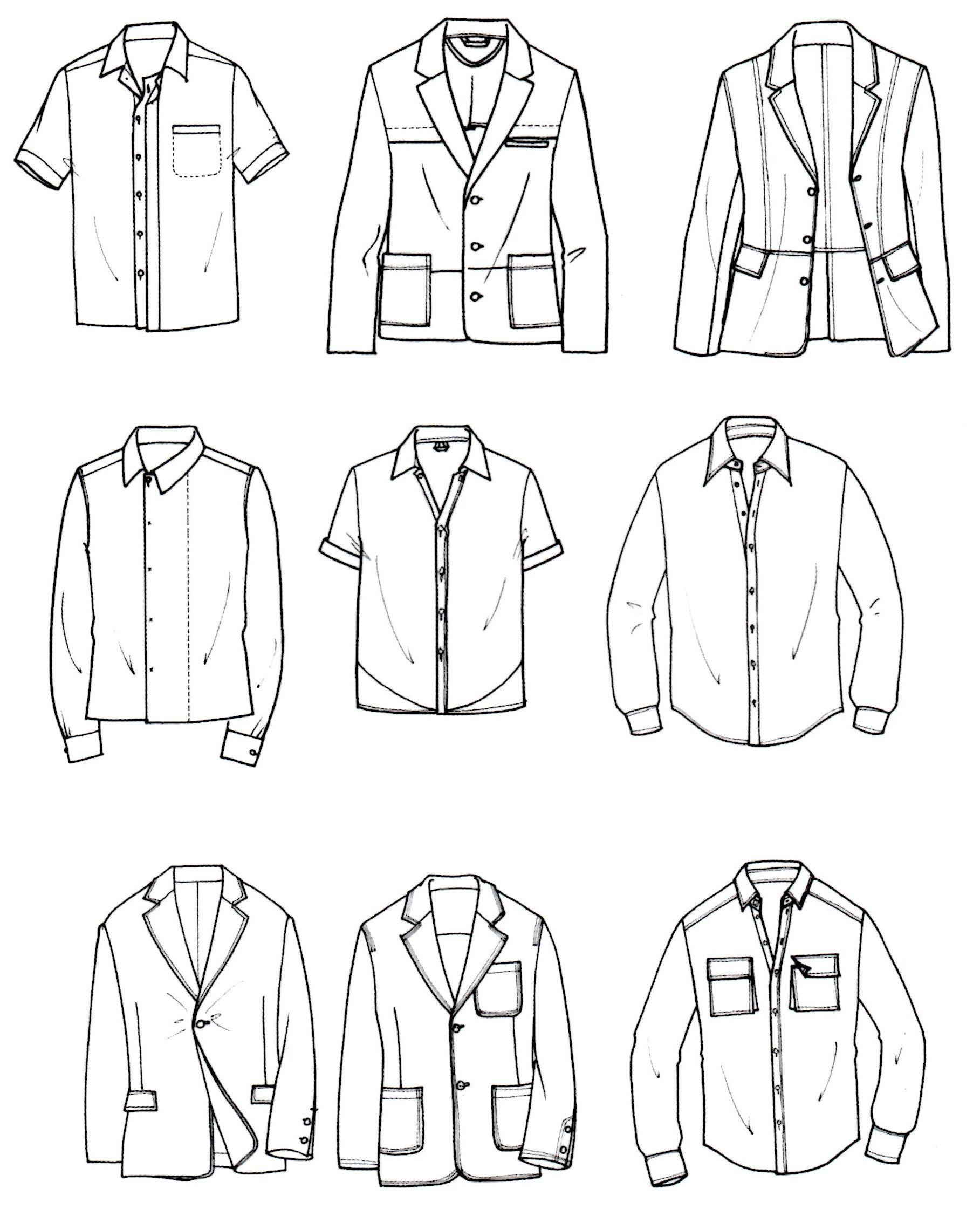 Men S Jacket And Shirt