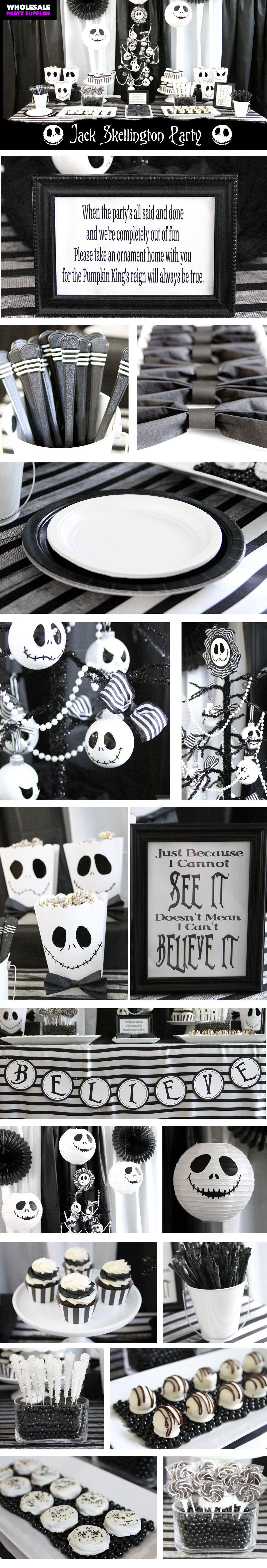 DIY Tim Burton Inspired Halloween Party | Halloween parties