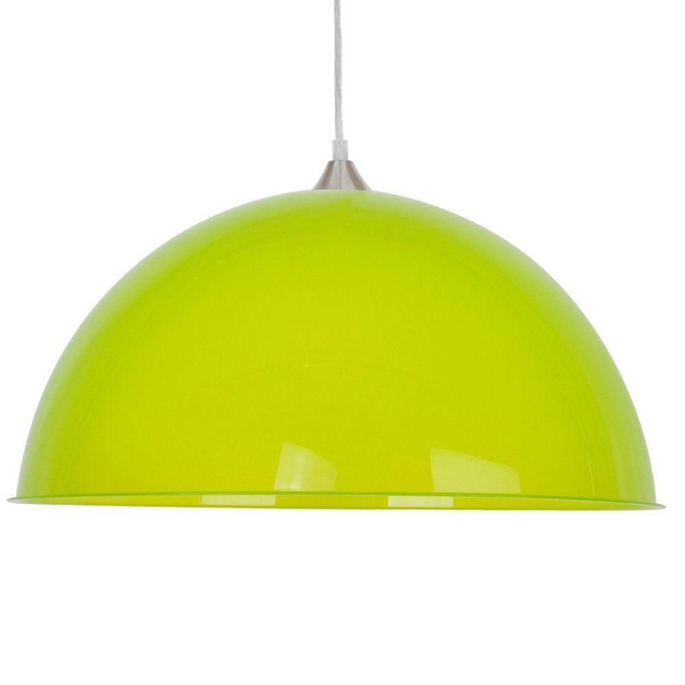 Modern Green Semi Transparent Dome Shade Electrical