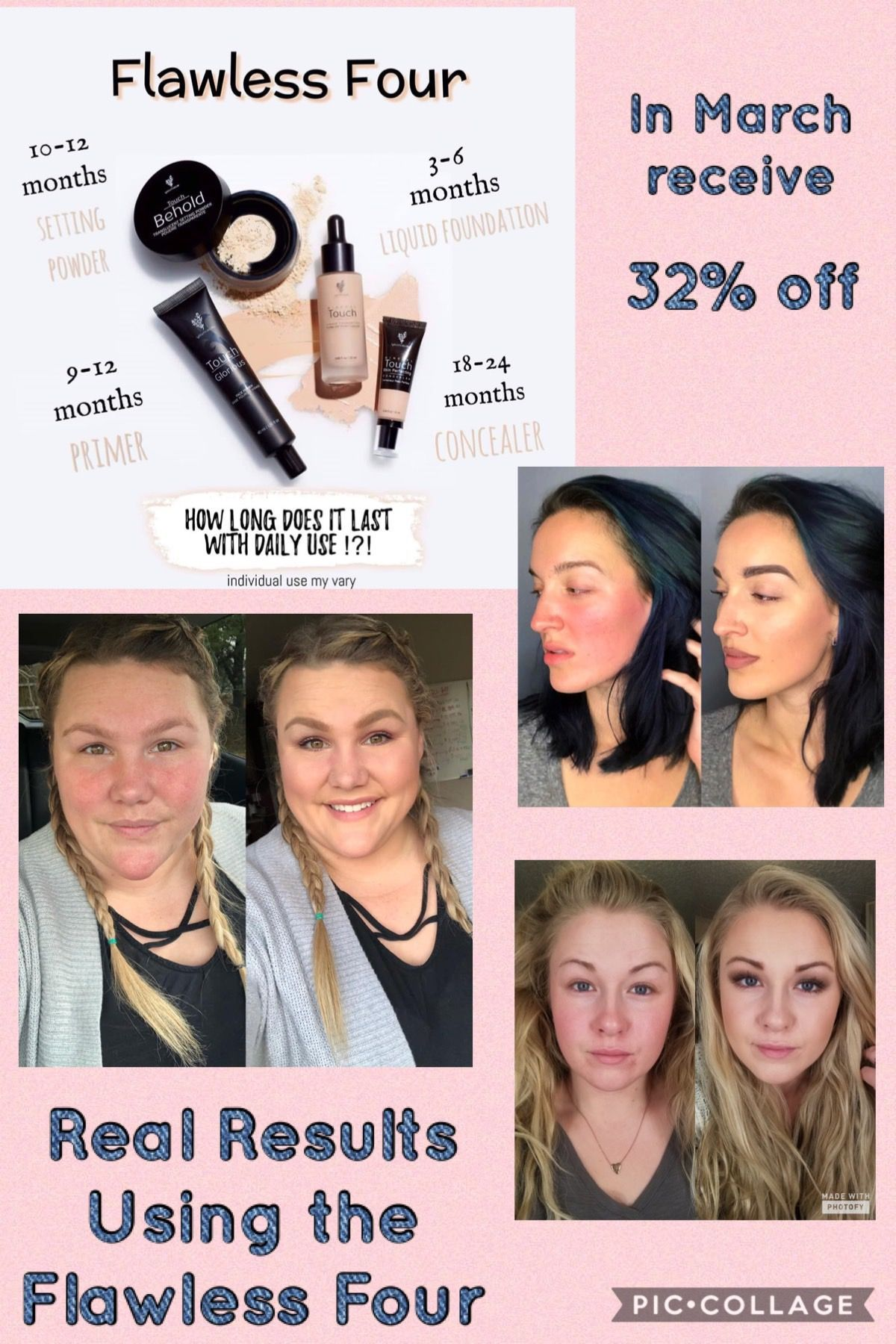 Makeup coverage for all skin types. Acne coverage, rosacea