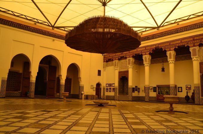 Medersa Ben Youssef: Sacred Places in Marrakech http://www.travellingbookjunkie.com/medersa-ben-youssef-morocco/ #saharadeserttour #sahara #morocco #tips #tourism #travel #marrakech