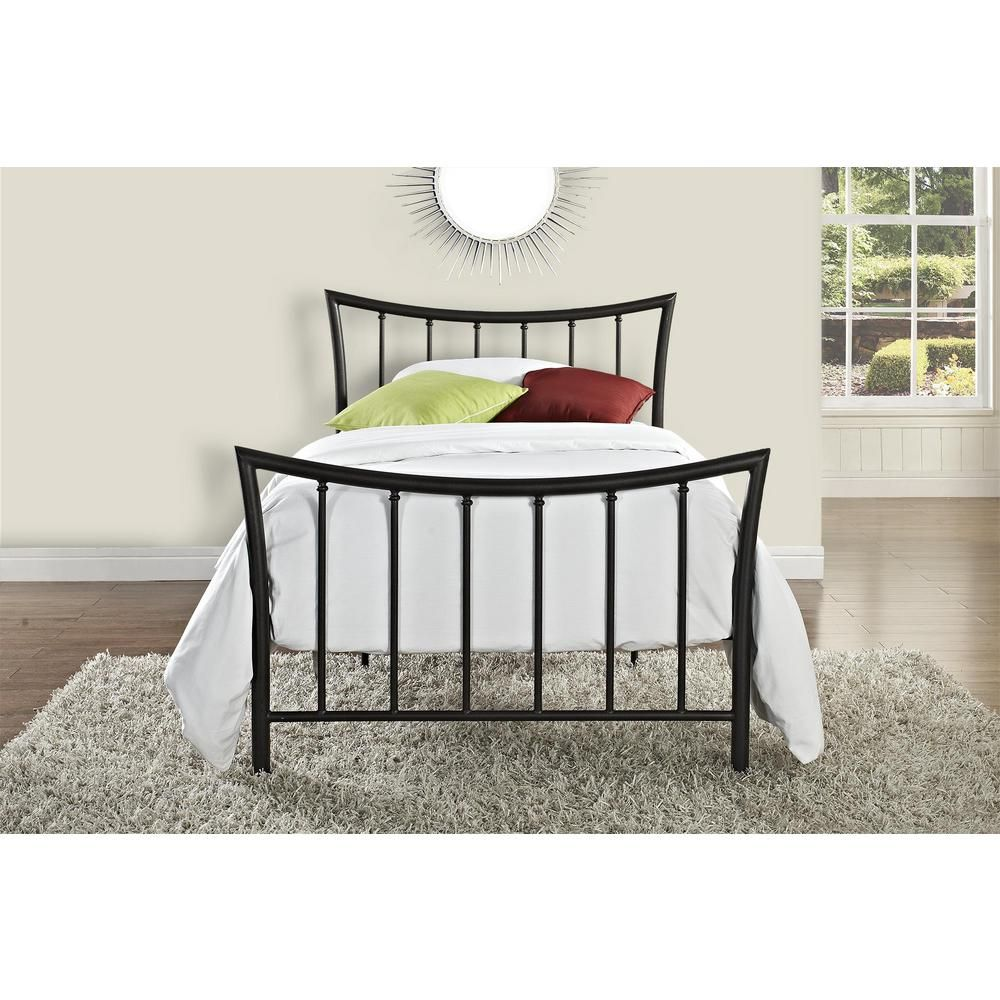 Dhp Bali Bronze Twin Bed Frame 3235098 Metal Twin Bed Frame Bed