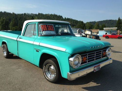 1967 dodge d 100 custom 2 wd, image 1of 23 Idaho | Dodge_1's_2's_&