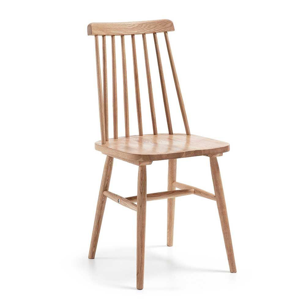 Stuhl Massiv Holz-stuhl in Retrostil (2er Set) Jetzt bestellen unter ...