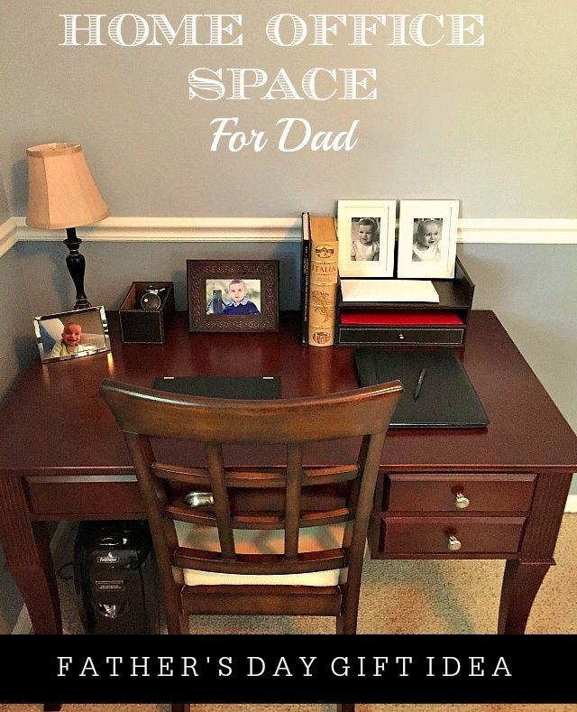 Home Office Space For Dad : Fatheru0027s Day Gift Idea #GiftFellowes #IC #ad