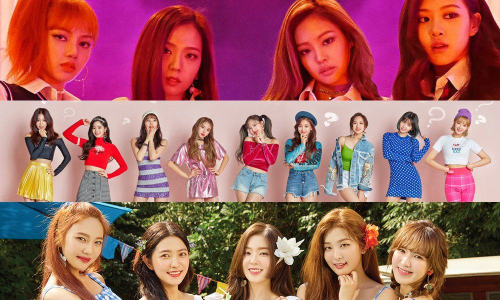 Ask K Pop Black Pink Twice And Red Velvet Are The Top Girl Groups In Brand Values For August