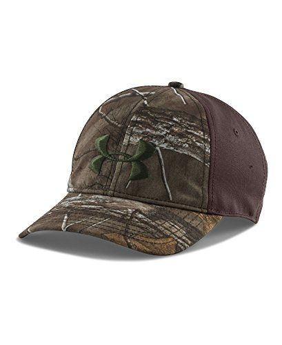 ad12ac429f0 Hunting- Under Armour Men s UA Camo 2-Tone Cap One Size Fits All REALTREE  AP-XTRA     Read more at the image link.