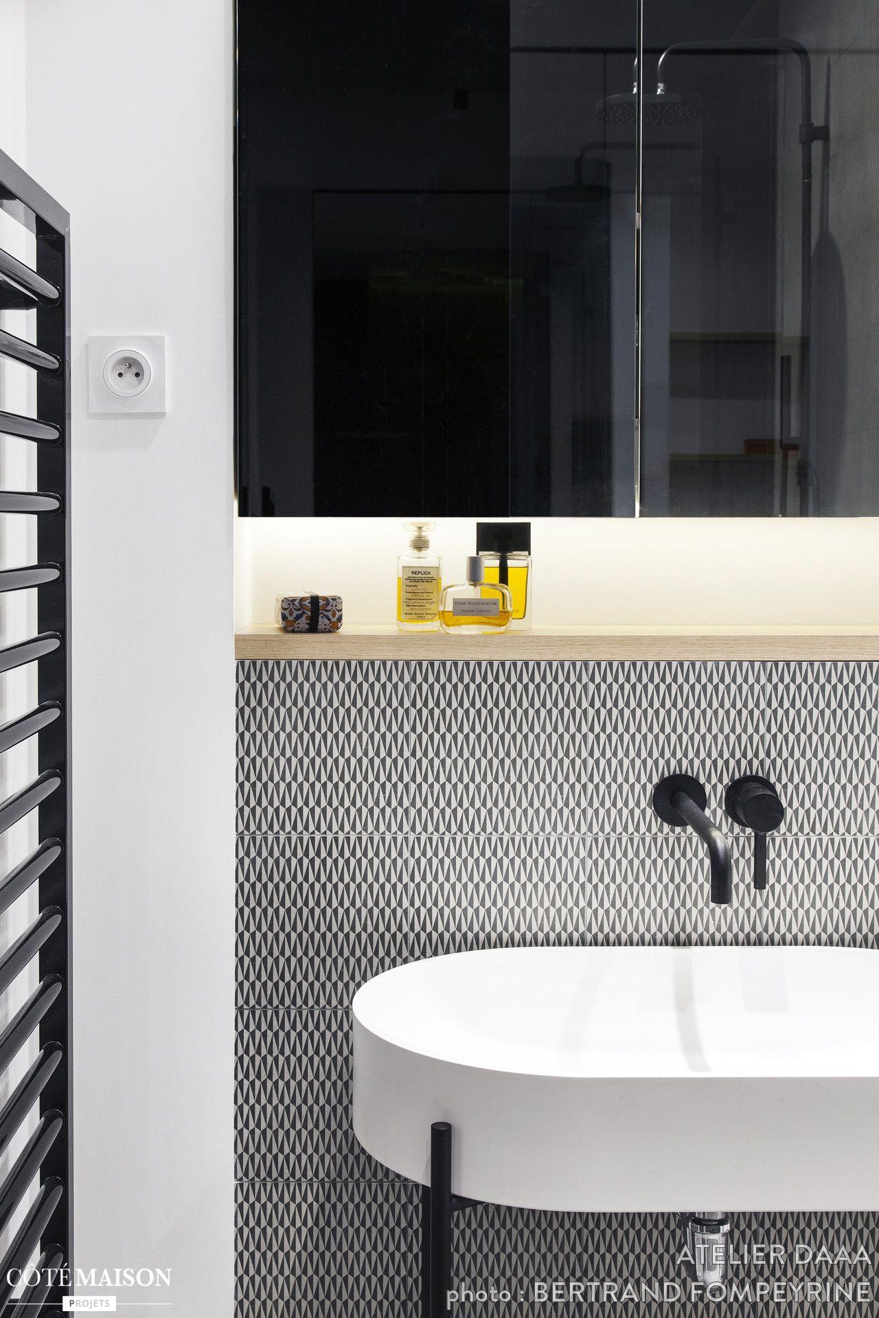 Atelier Daaa Salle De Bain Design Salle De Bains Moderne Et Salle De Bain Noir Et Blanc
