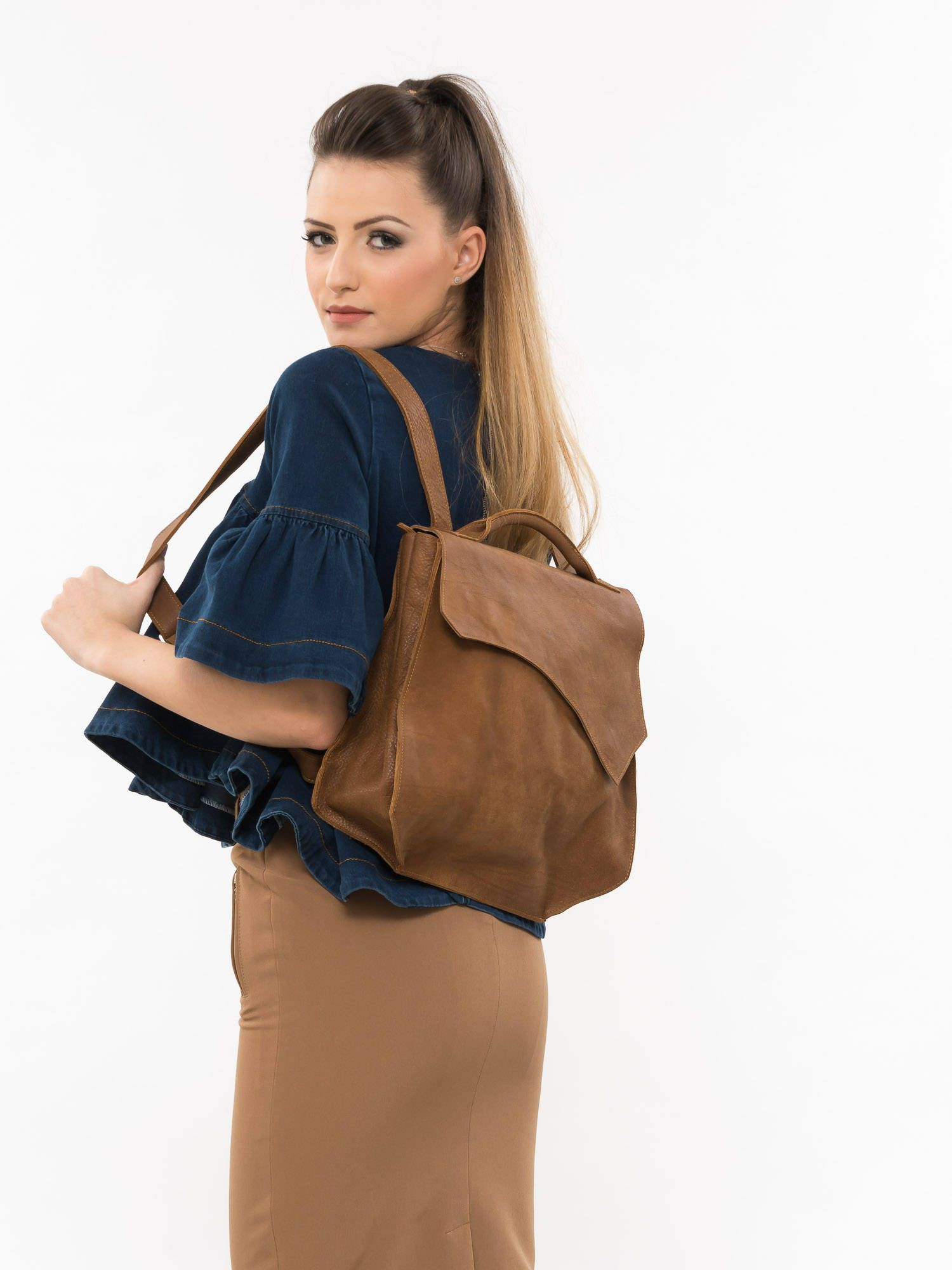 95e2c9ccaab6 Excited to share the latest addition to my  etsy shop  Brown leather  backpack