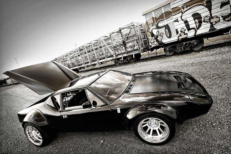 De Tomaso Pantera GT4 Tribute side Pantera, Unique cars