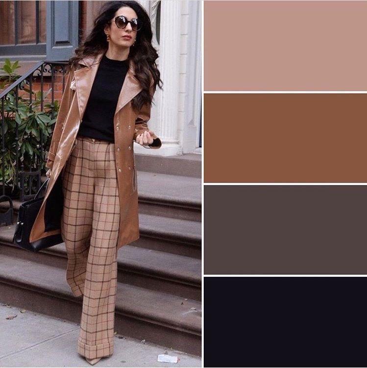 Combinaciones De Colores Con Beige Combinacion De Colores Combinaciones Trajes De Color Blocking