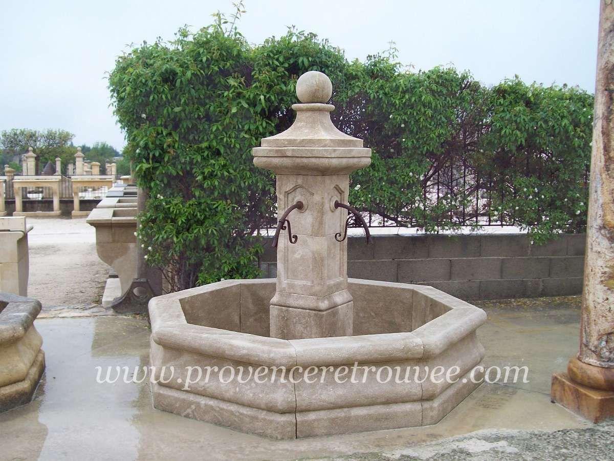Fontaine centrale en pierre La Village 200 fonc-V-200 | Fontaines en ...
