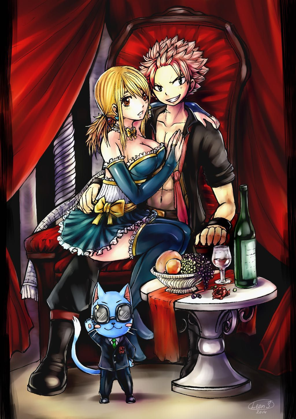 Fairy Tail Fanfiction End Revealed: Forced To Marry A Vampire( A Nalu Fanfiction) [COMPLETED