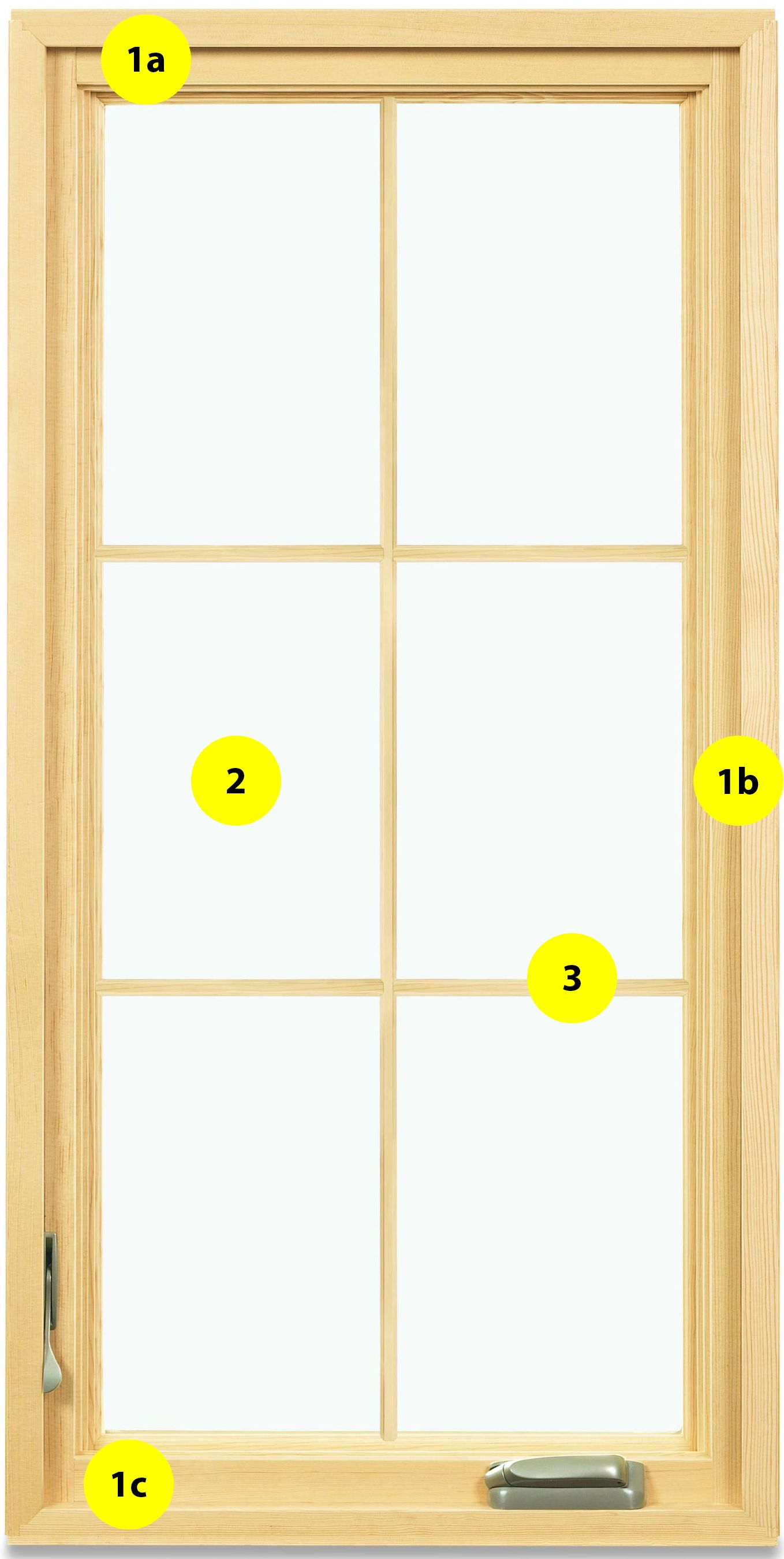 Casement Window Terminology Diagram Window Parts Windows Casement Windows