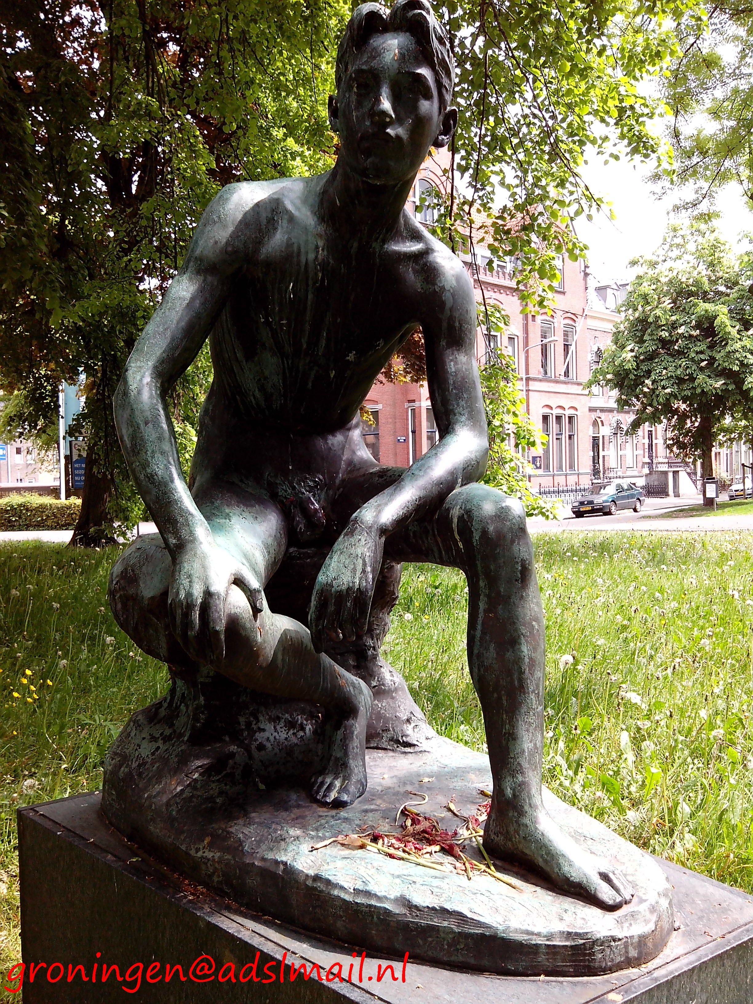 Nude man sitting Nude Photos 95