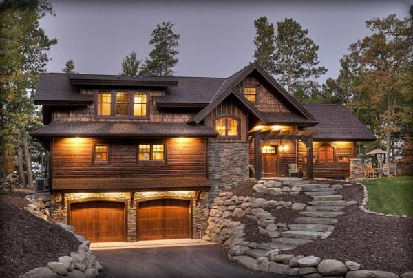 Home Design Rustic Houses Design Ideas Architecture Photo