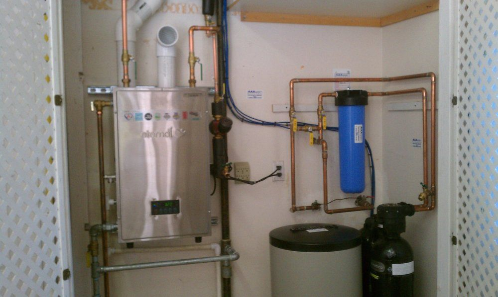 How To Install Water Softener Turn off water supply at
