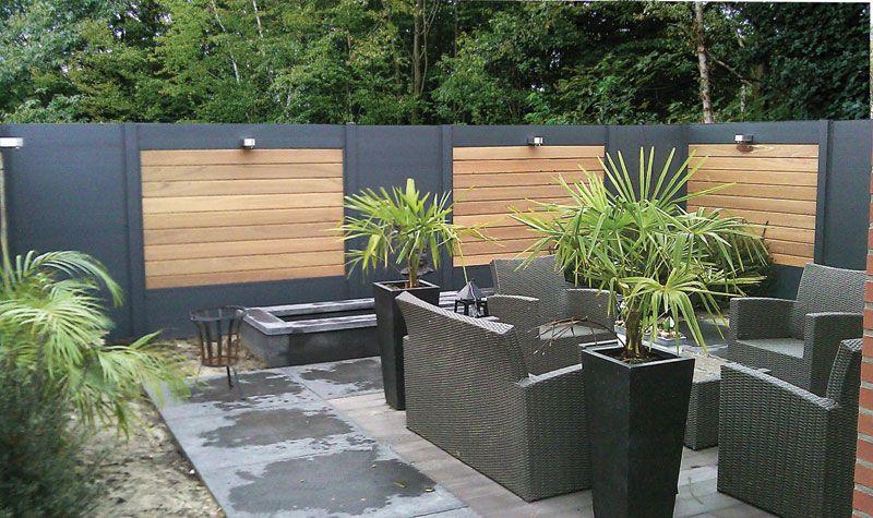 Fabricant et installation de panneaux brise-vue en bois atypique ...