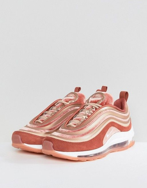 c15b1e4f55 Nike Air Max 97 Ultra '17 Velvet Sneakers In Dusty Peach | shoes ...