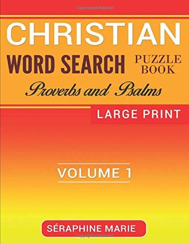 christian word search puzzle book educational and fun