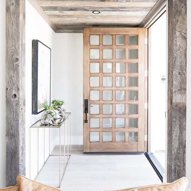 Fresh Entry Designs for Front Doors