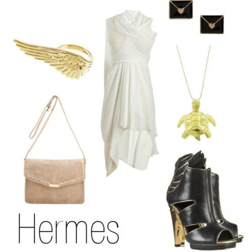 Hermes Greek Mythology | Character Inspired Outfits | Pinterest | Mythology Greek and Casual ...