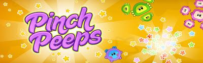 Looking for a great (and free) app to work on fine motor skills.  Check out Pinch Peeps.  It's a fast moving and fun game for kids of all ages!
