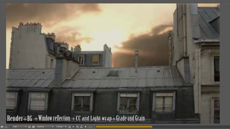 Rooftop matte painting breakdown