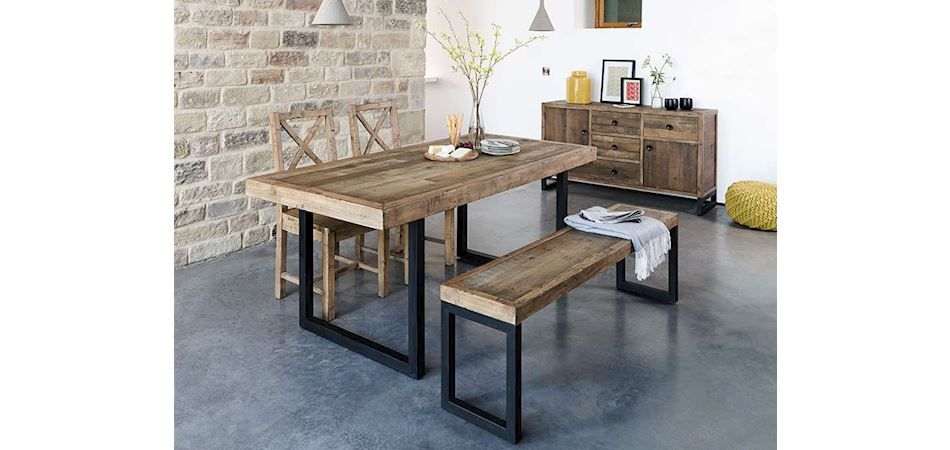Blake 180cm Extending Dining Table Reclaimed Wood Dining Table Furniture Dining Table Reclaimed Dining Table