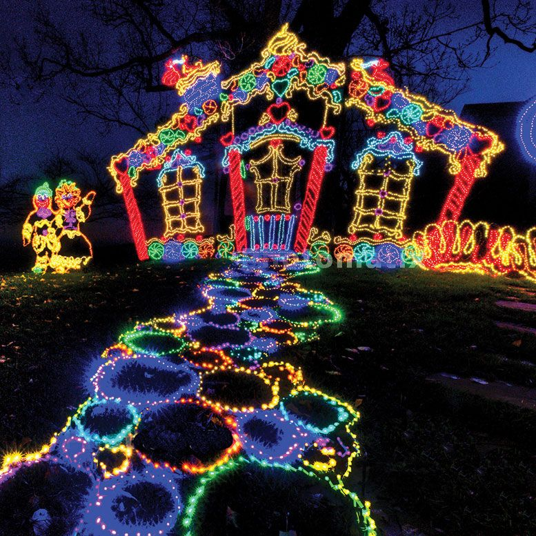 Chattanooga Christmas Lights.Rock City S Enchanted Garden Of Lights My Pinits