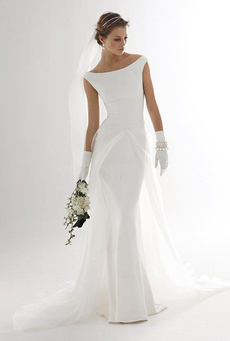 Classic Wedding Gowns For the Over-50 Bride | Gowns, Weddings and ...