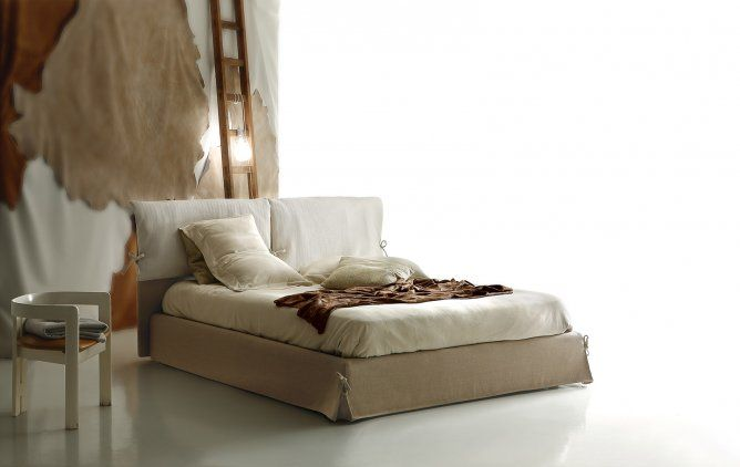pillow soft fabric bed | ditre italia furniture | sami | by, Mobel ideea