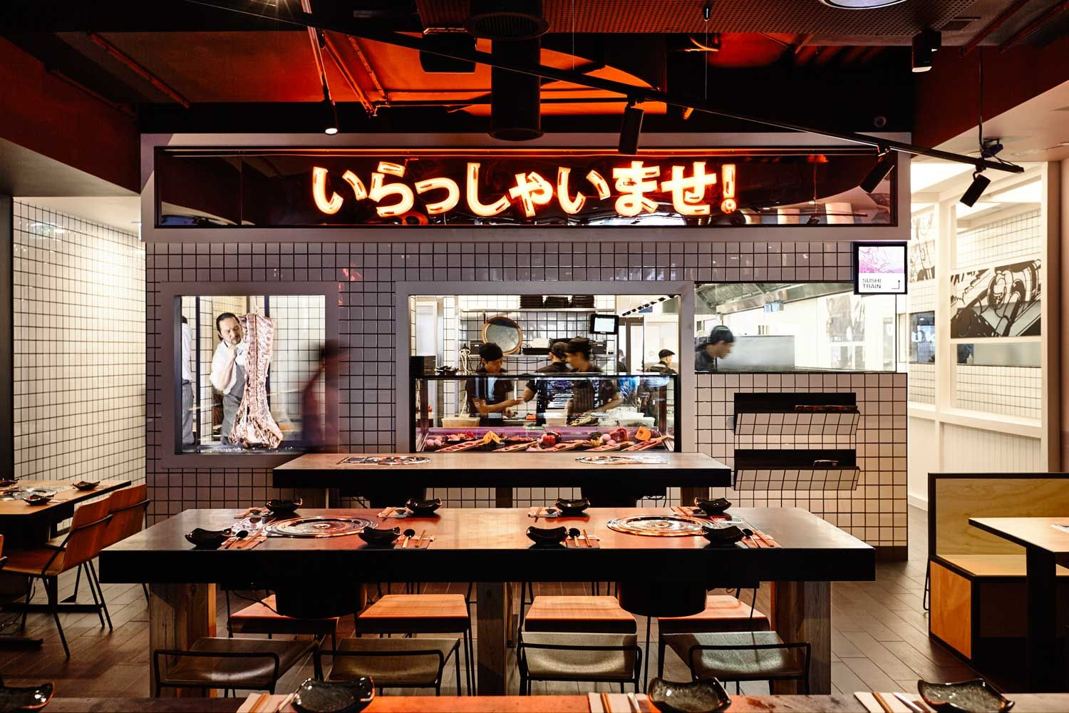 Tetsujin Anese Restaurant In Melbourne By Architects Eat Collaboration With Principle Design Embraces The Concept Of Order And Chaos