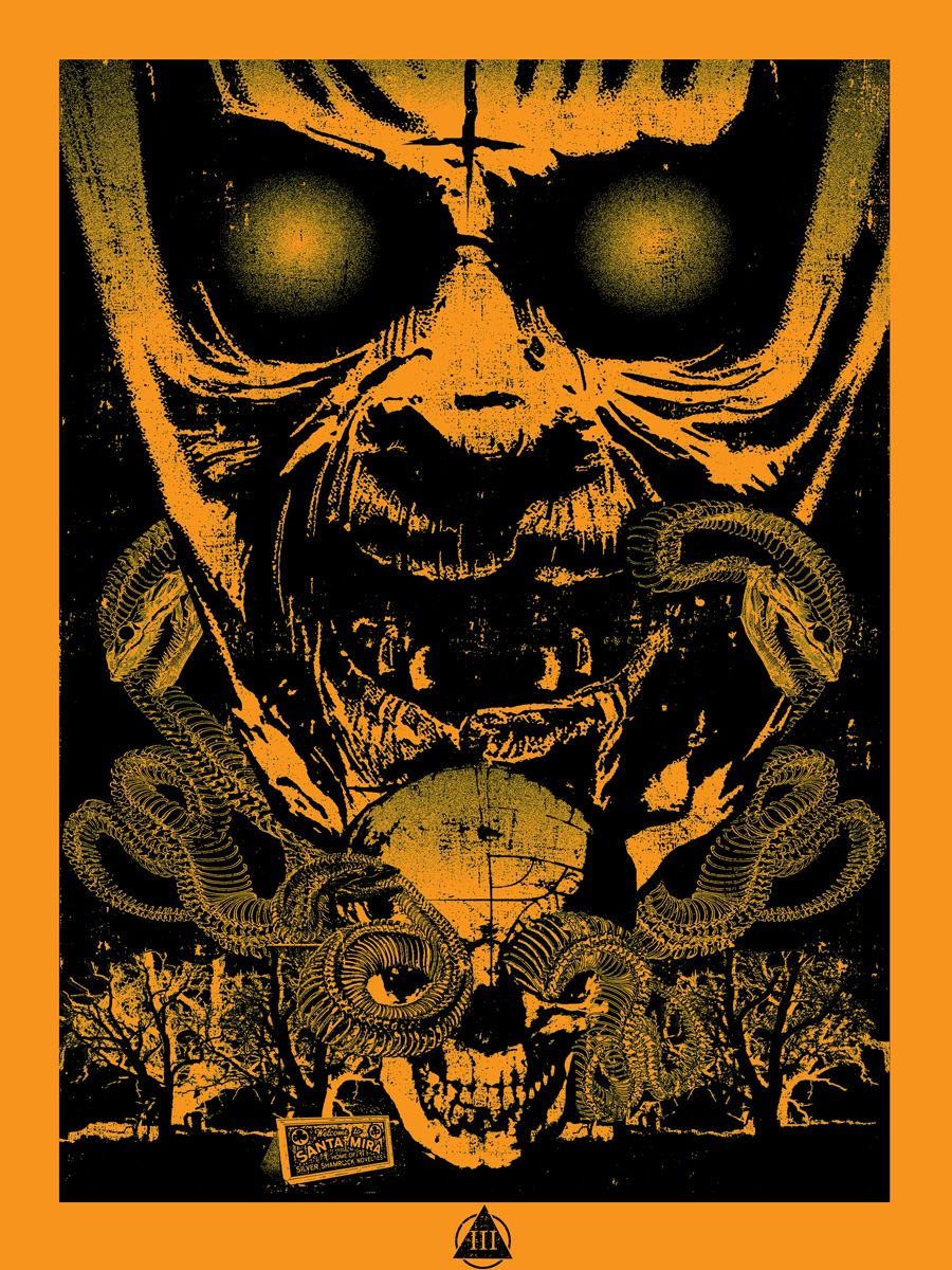 Rob Zombie Halloween Poster Art, Halloween poster