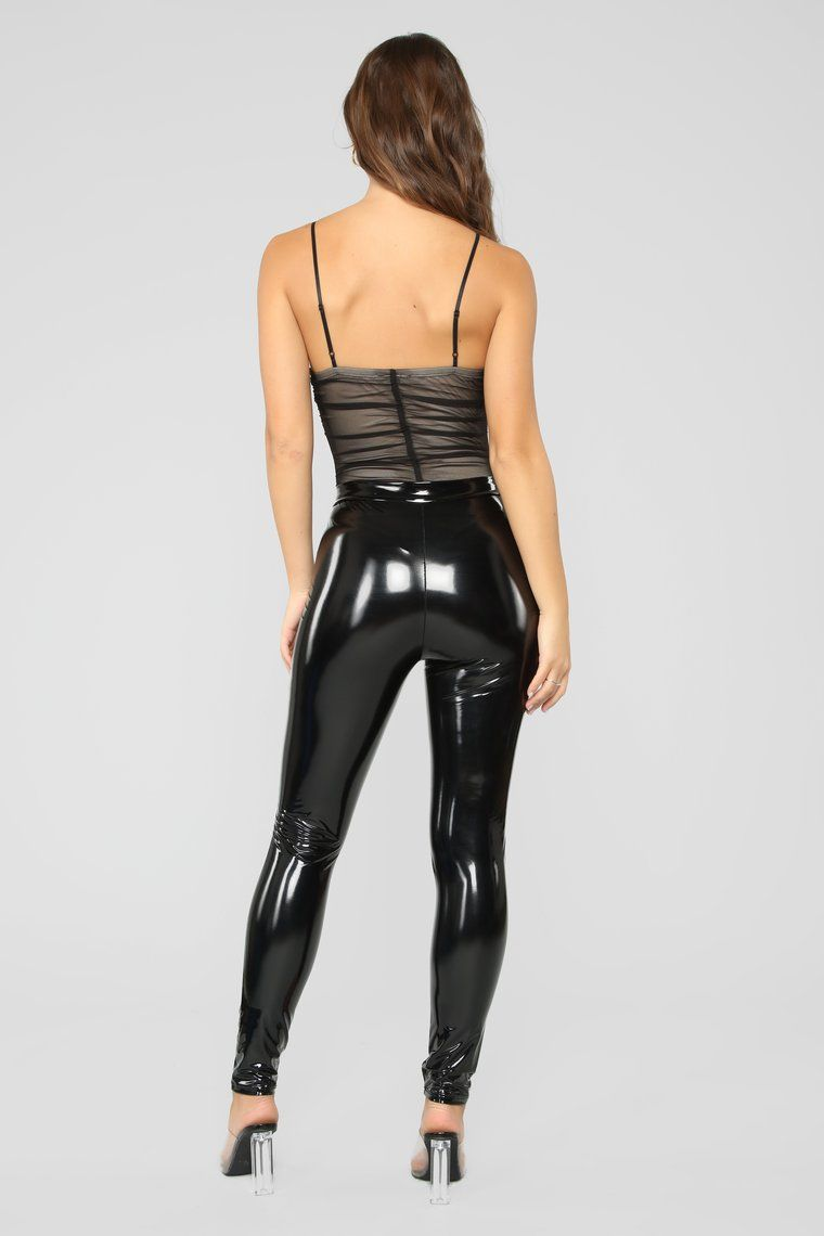 Pin on Leather pants