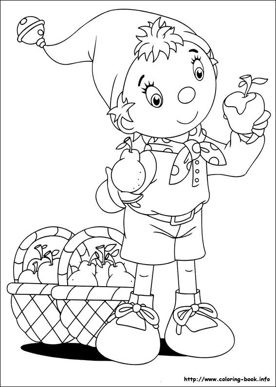 Noddy Coloring Picture Noddy Cartoon Coloring Pages Quote