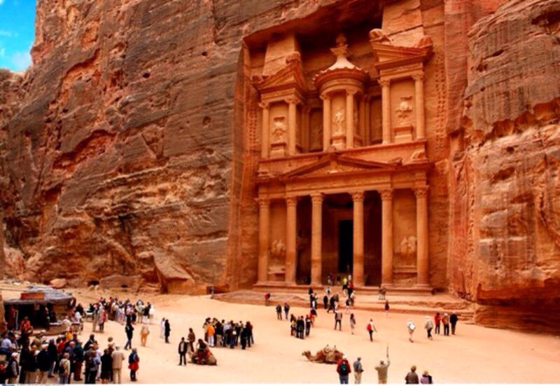 Petra The World Wonder Is Without A Doubt Jordan S Most Valuable Treasure And Greatest Tourist A Places Around The World Around The Worlds Tourist Attraction