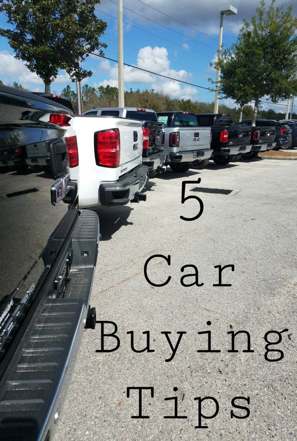 5 Car Buying Tips For Busy Families Car buying, Car